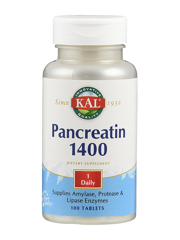 Pancreatin 1400 mg, 100 Tabletten