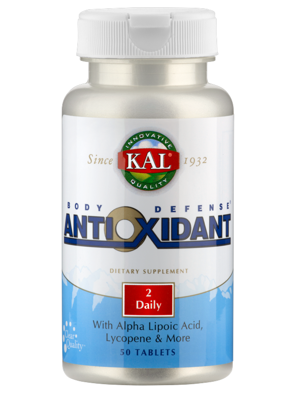 Body Defense Antioxidant, 50 Tabletten