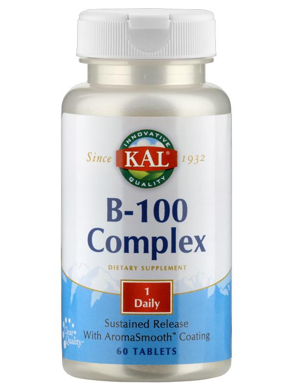 Vitamin-Complex B 100, v. A., 60 Tabletten