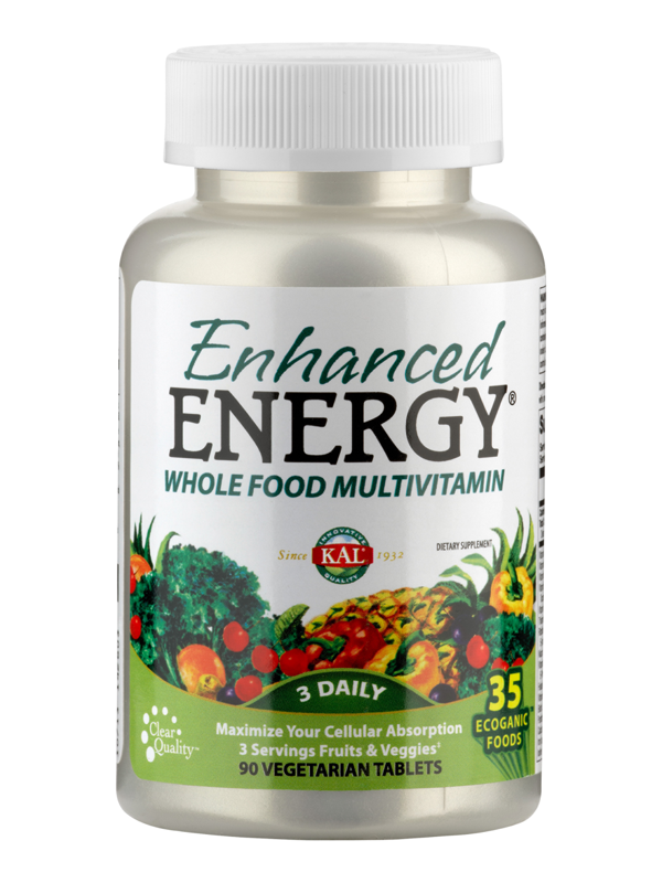 Multivitamin: Enhanced Energy, 90 Tabletten