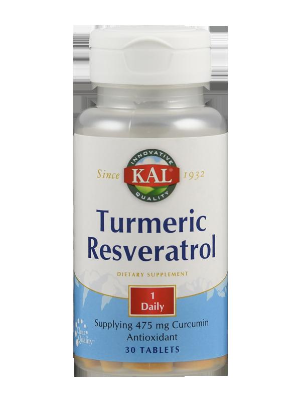 Turmeric / Resveratol, 30 Tabletten