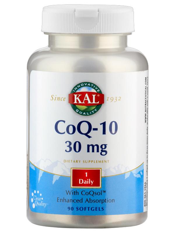 Coenzym Q 10, 30 mg, 90 Weichkapseln