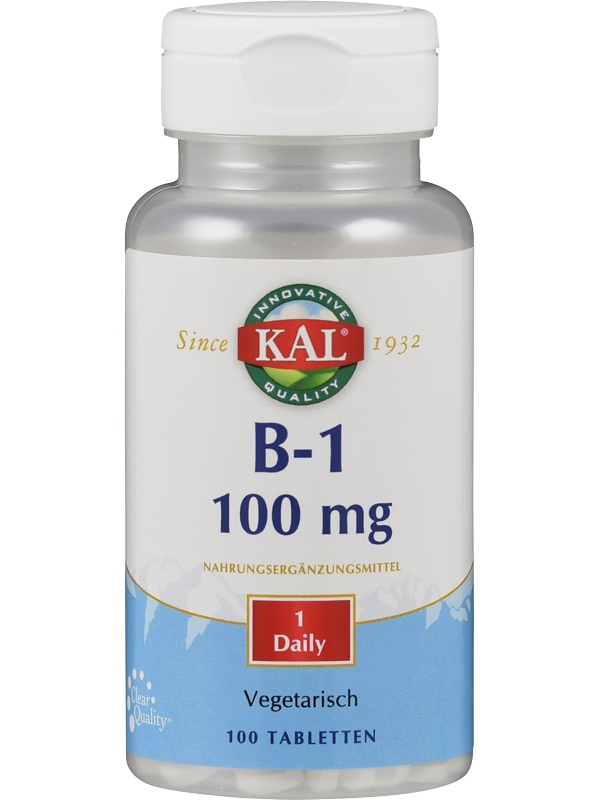 Vitamin B 1 Thiamin 100 mg, 100 Tabletten