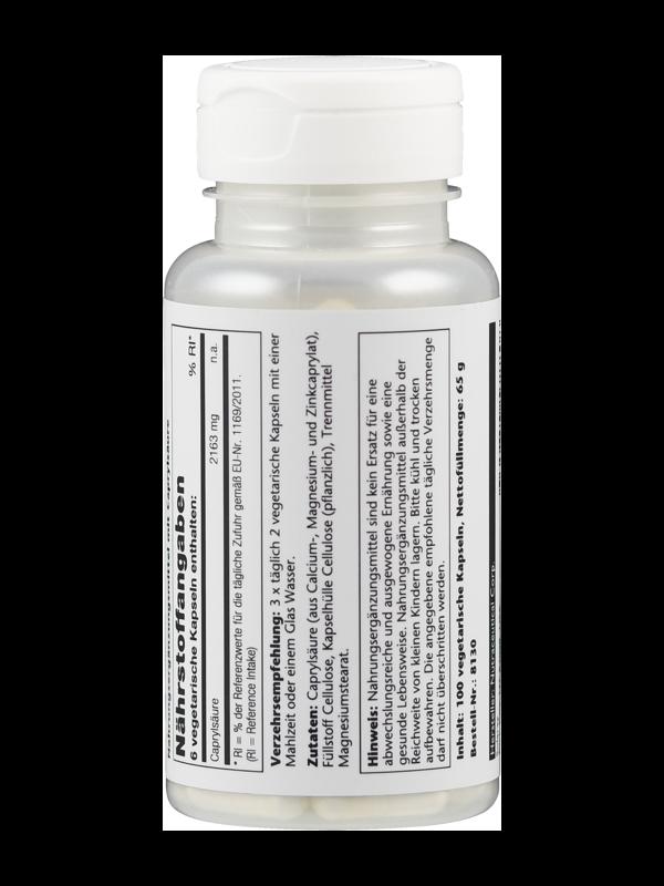 Caprylsäure , 100 Tabletten