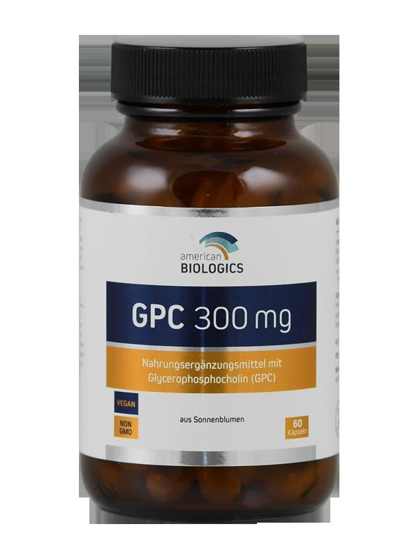 GPC GlyceroPhosphoCholin 300mg at Cenaverde B V