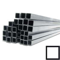 product image: Carbon fibre square tubes pultruded