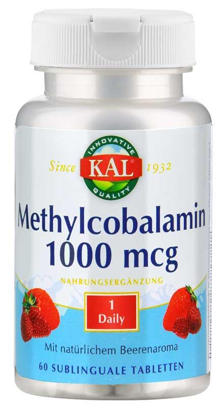 Methylcobalamin (B12) 1000 mcg von KAL