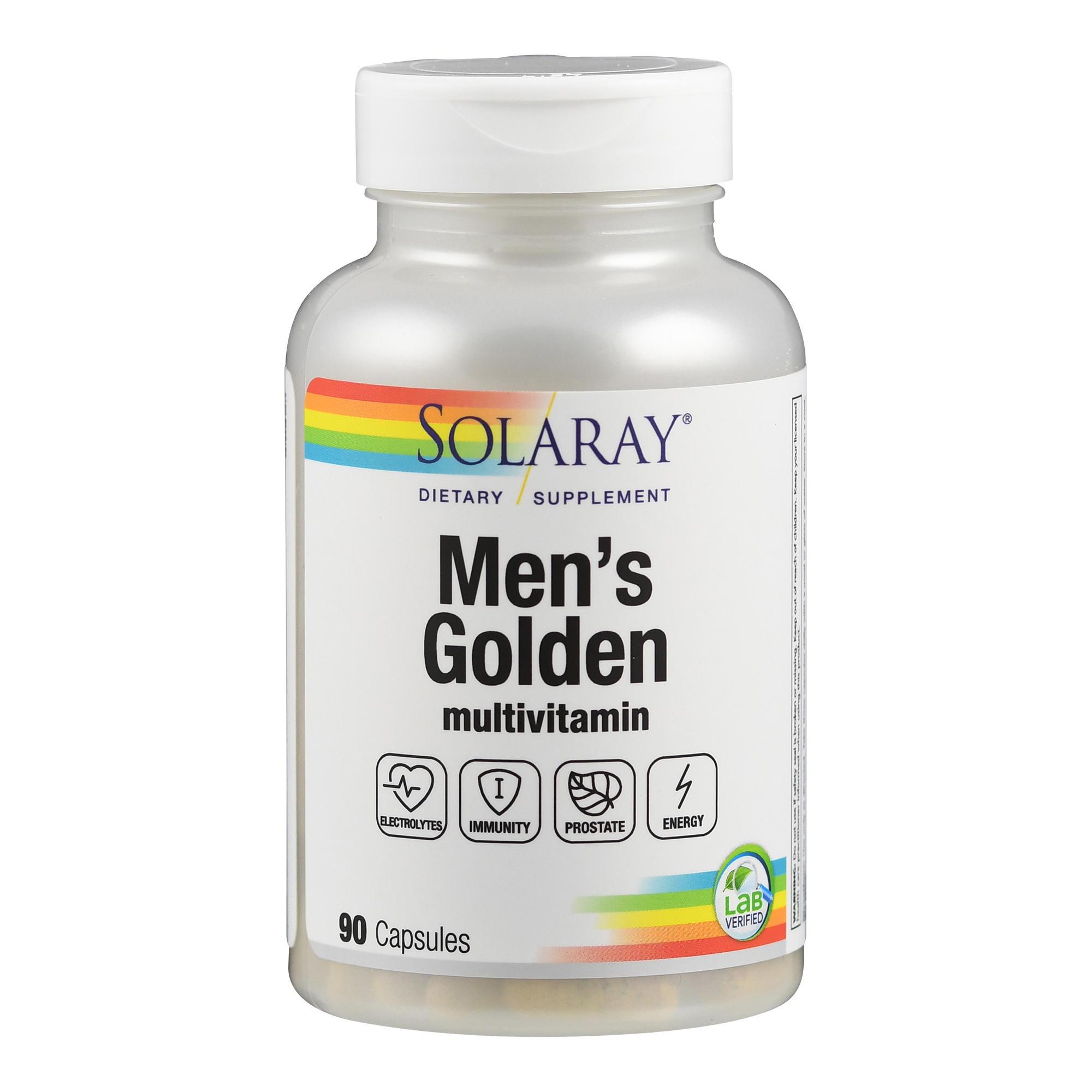 Men´s Golden: Nährstoffkomplex speziell für den Mann ab 50